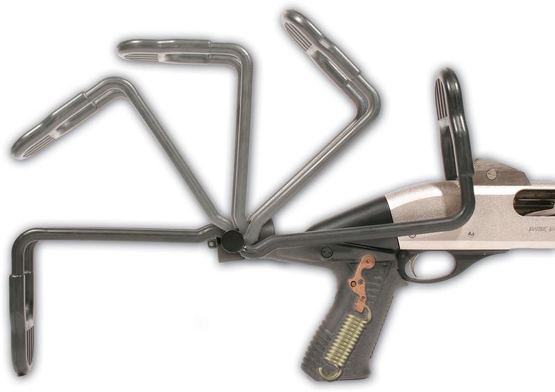 Приклад складной Blackhawk с гашением отдачи (Remington 870)