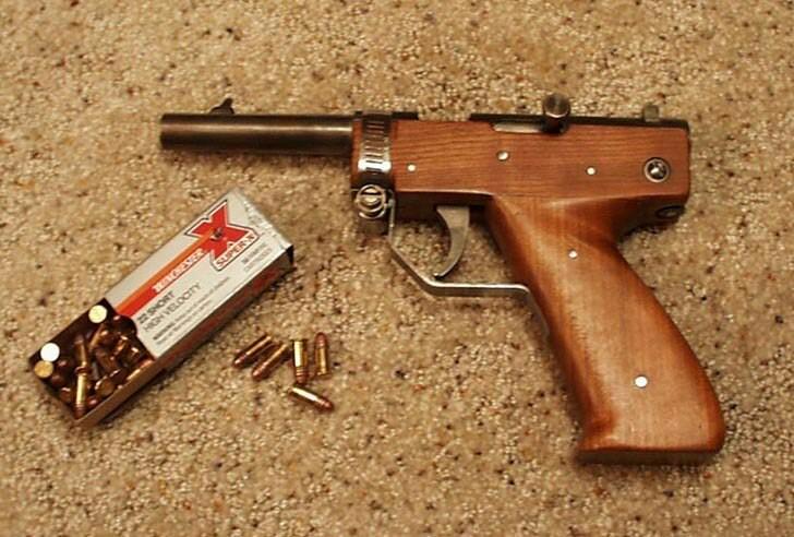 Подборка интересных образцов самопального оружия